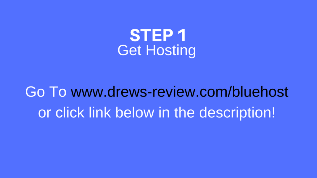 How to get a hosting account