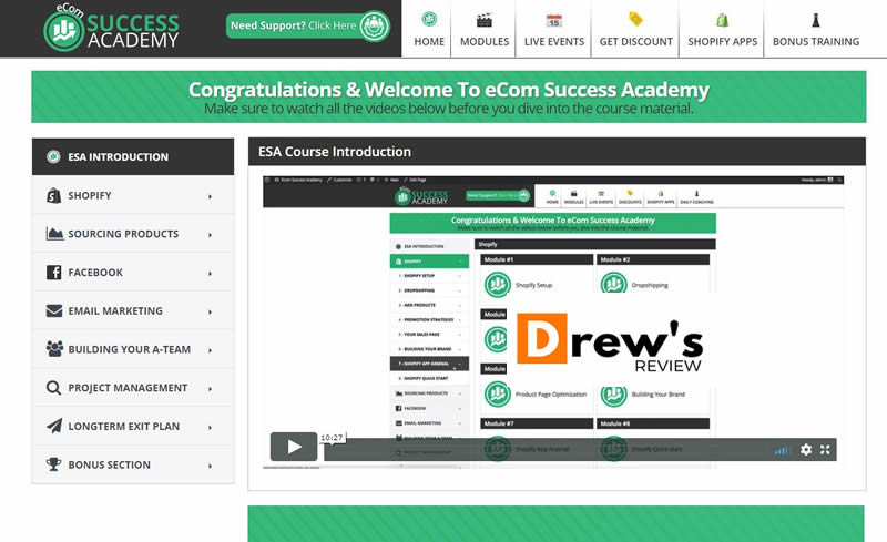 eCom Success Academy Review - Is There a Better Alternative?