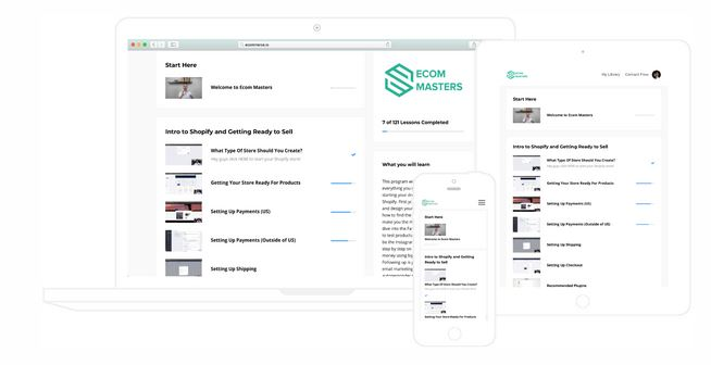 Ecom Masters Review - Shopify Course by Joaquin Corrales