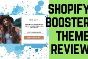 Shopify Booster Theme Review – Can it Boost Your Conversion Rate?