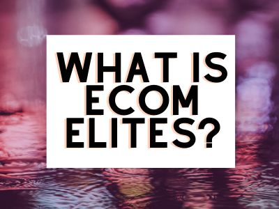 my personal review of ecom elites by Franklin Hatchett